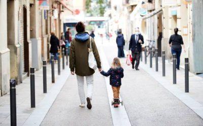 Salidas de casa con niñ@s en tiempos de Covid 19.